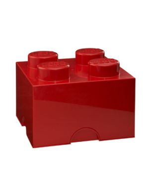 LEGO - STORAGE BOX - 4 studs / Red