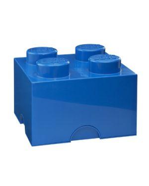 LEGO-BOITE DE RANGEMENT-4 plots / Bleu roi