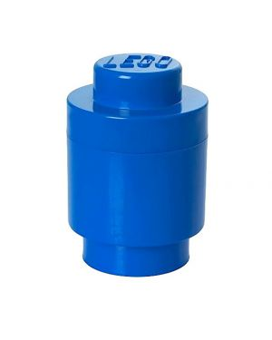 LEGO - STORAGE BOX - 1 Stud round / Blue