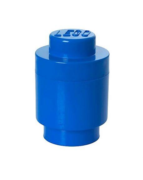 LEGO - STORAGE BOX - 1 Stud round / Blue