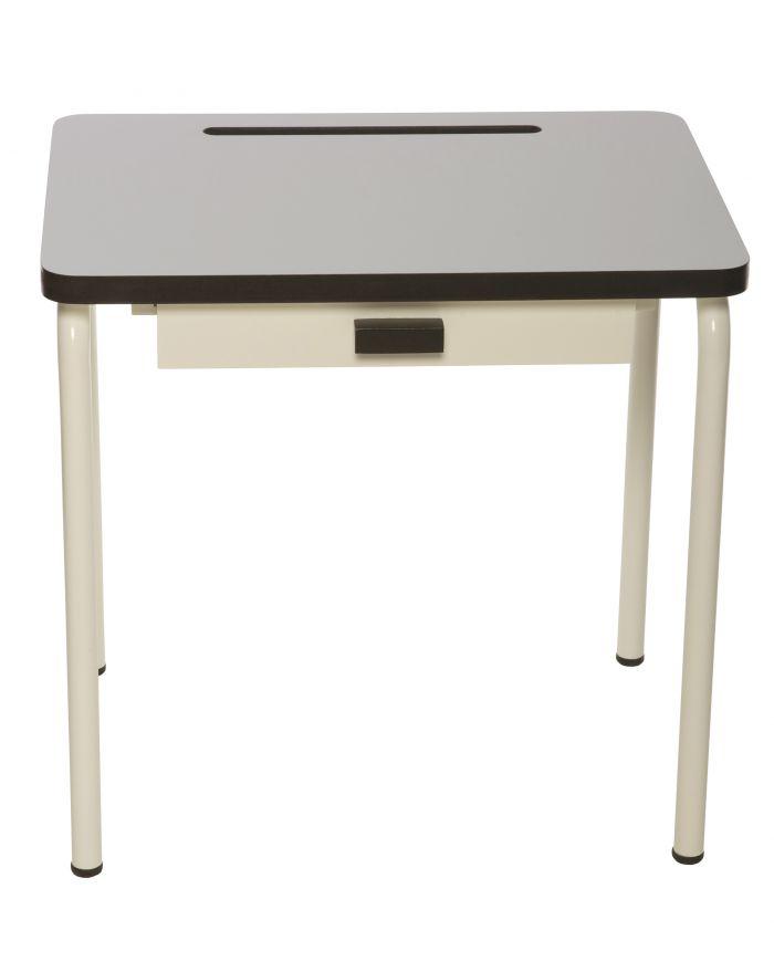 Design school desk for children furniture with retro style - Bureau enfant 3 ans ...