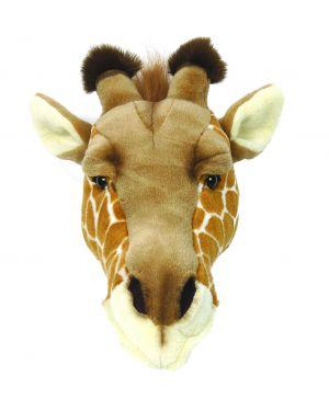 WILD & SOFT - Trophée en peluche - Tête de girafe