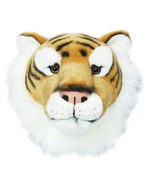 WILD & SOFT - Trophée en peluche - Tête de tigre - Félix