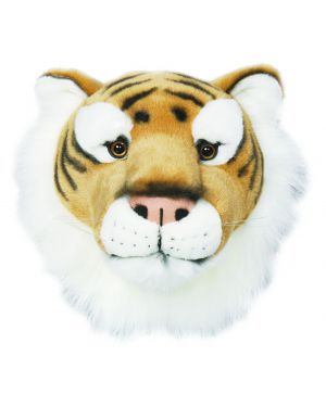 WILD & SOFT - Trophy in plush - Tiger's head - Felix
