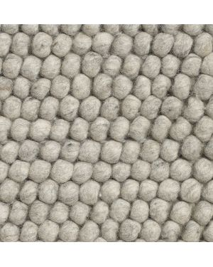 HAY - PEAS Contemporary rug in Wool / Soft Grey