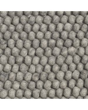 HAY - PEAS Contemporary rug in Wool / Medium Grey
