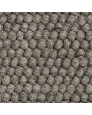 HAY - PEAS Contemporary rug in Wool / Dark Grey