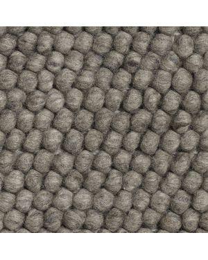 HAY-PEAS Tapis contemporain en laine / Gris Foncé