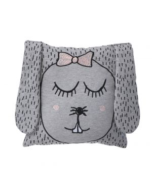 FERM LIVING - LITTLE MRS RABBIT, cushion or cuddly toy?