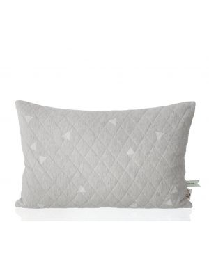 FERM LIVING - TEEPEE Quilted cushion / Grey