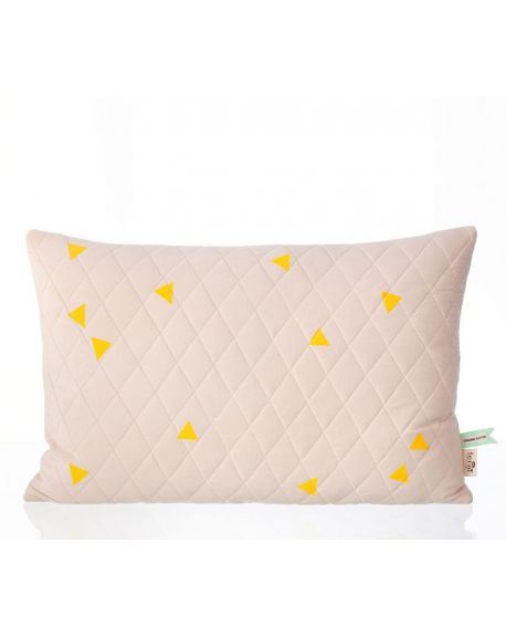 FERM LIVING - TEEPEE Quilted cushion / Pink