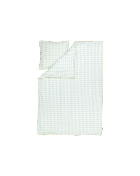 FERM LIVING - HARLEQUIN MINT - Duvet cover and pillow case 140 x 200 cm