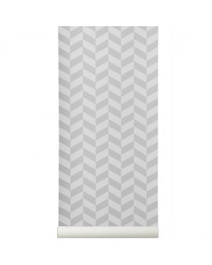 FERM LIVING - ANGLE WALLPAPER Grey