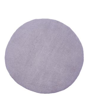 MUSKHANE - KALI Round Felt rug for children / 80 cm Iris