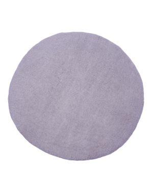 MUSKHANE-KALI Tapis rond en feutre / 80 cm Iris