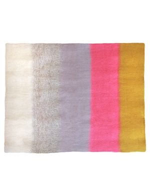 MUSKHANE - BARDYA Felt rug for children / 90 cm Light stone / Yin 120 x 140 cm