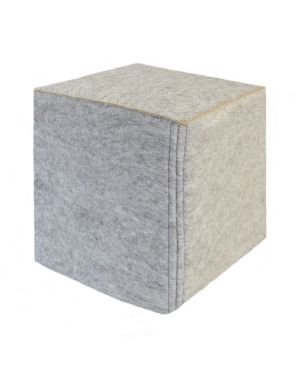 MUSKHANE-Cube Nomade - Pouf / Pierre