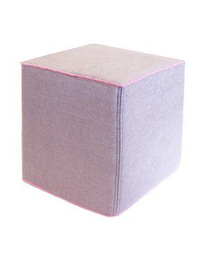 MUSKHANE-Cube Nomade - Pouf / Iris
