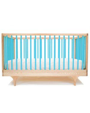 KALON STUDIOS - CARAVAN couleur, lit bébé évolutif design - Turquoise