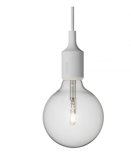 MUUTO-E27 - PENDANT LIGHT - Light Grey