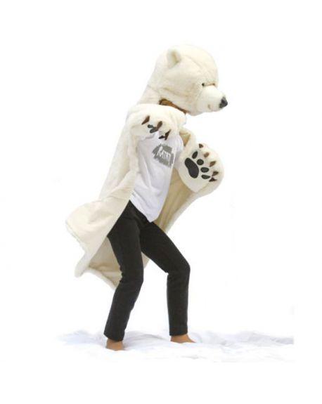 RATATAM - Déguisement ours polaire