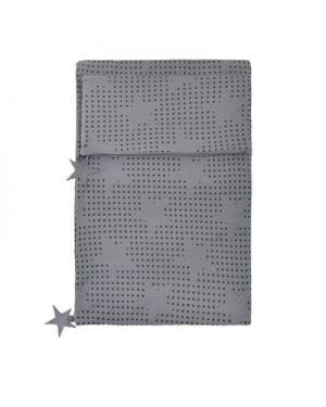 JACK N'A QU'UN OEIL-PEGASE-Housse de couette 140 x 200 cm + taie d'oreiller 65 x 65 cm Mine de plomb (gris foncé)