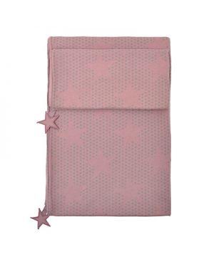 JACK N'A QU'UN OEIL - PEGASE - Duvet cover 140 x 200 cm + Pillow case 65 x 65 cm Magnolia