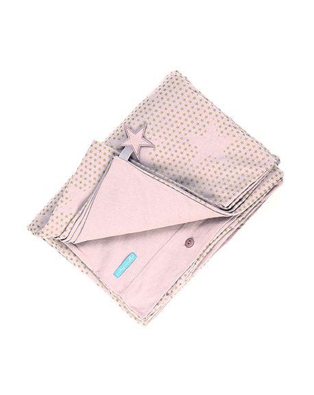 JACK N'A QU'UN OEIL - PEGASE - Duvet cover 140 x 200 cm + Pillow case 65 x 65 cm - Powder pink