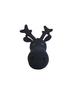 ANNE-CLAIRE PETIT - REINDEER HEAD - Navy Blue