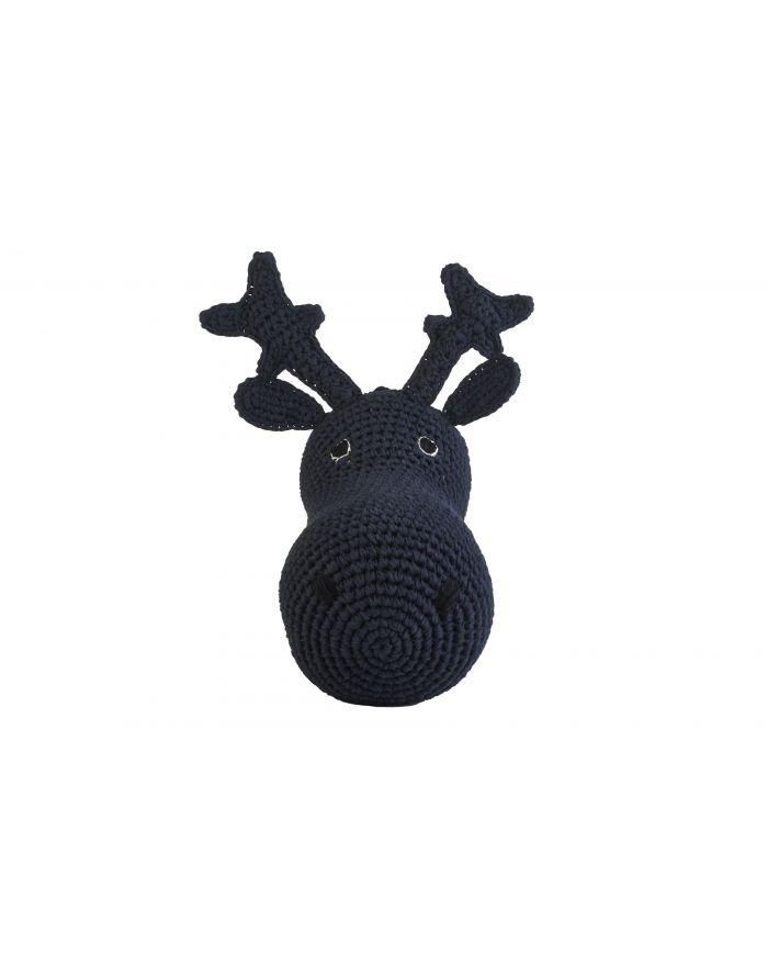 anne claire petit reindeer head. Black Bedroom Furniture Sets. Home Design Ideas