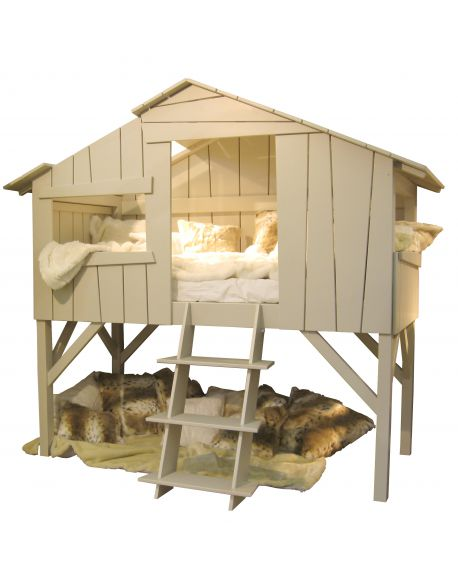 MATHY BY BOLS - Tree house bed - Linden - optionnal varnish