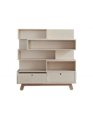 KUTIKAI - Bookcase - Peekaboo Collection - 120 x 38 cm