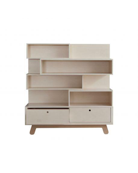 KUTIKAI - Bookcase - Peekaboo Collection - 120 x 38 cm