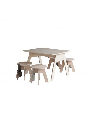 KUTIKAI - Desk - 80x60 cm - Peekaboo Collection