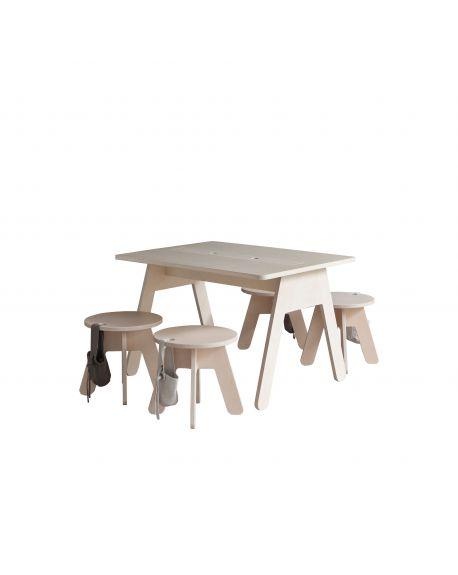 KUTIKAI - Desk - 80x60 cm - Peekaboo Collection