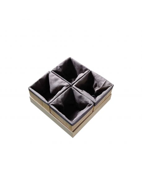 KUTIKAI- Set de 4 boites - Peakaboo collection -