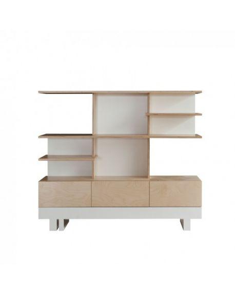 KUTIKAI- Bookcase - Roof collection - 140x35 cm