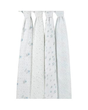 ADEN & ANAIS - Maxi langes night sky - Lot de 4