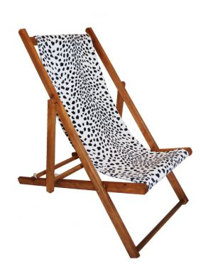 TOILES CHICS - Deck chair dalmatian