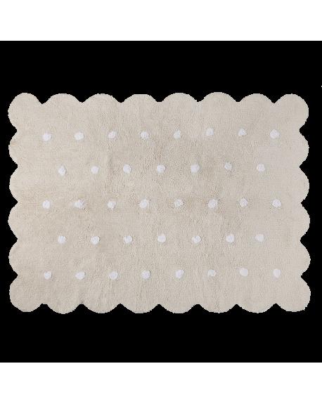LORENA CANALS - TAPIS GALLETA - Gris Clair - 120 x 160 cm