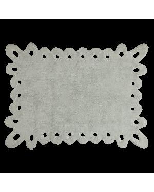 LORENA CANALS - PUNTILLA - Grey/mint - 120 x 160 cm