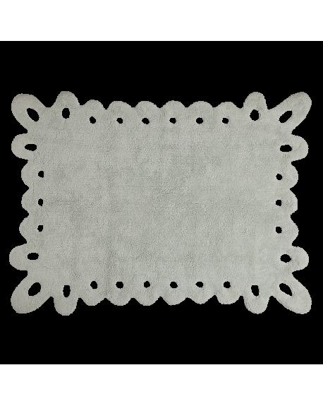 LORENA CANALS - TAPIS PUNITLLA - Gris/menthe - 120 x 160 cm