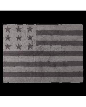 LORENA CANALS - AMERICAN FLAG - Dark Grey - 120 x 160 cm