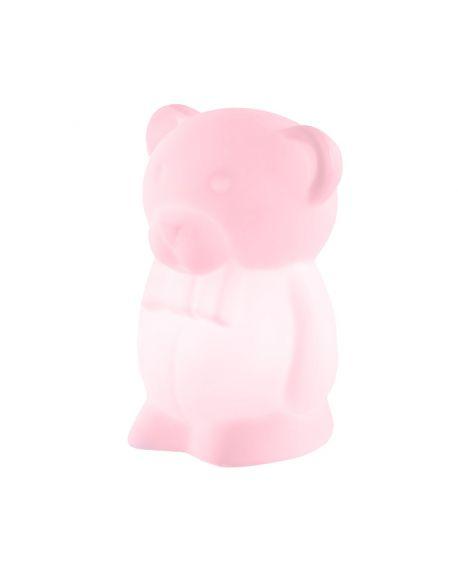 SLIDE DESIGN-JUNIOR ROSE-Lampe de table pour enfants